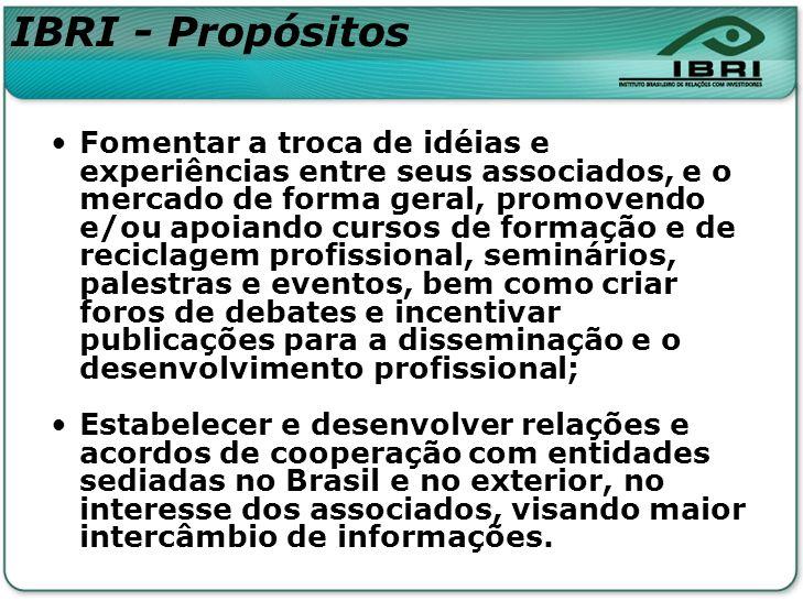 IBRI - Propósitos