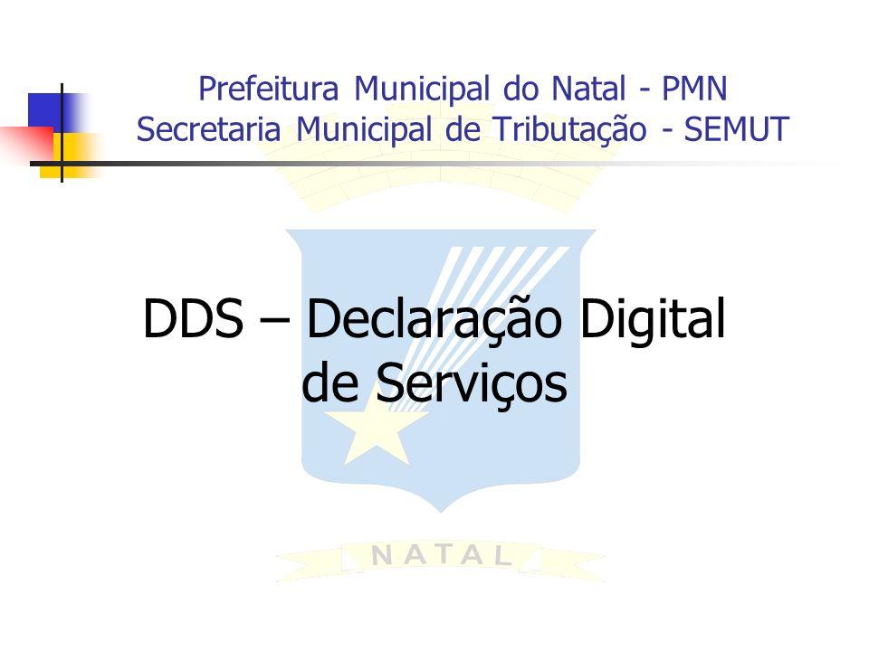 DDS – Declaração Digital de Serviços