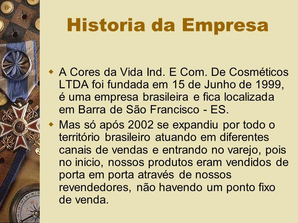 Historia da Empresa