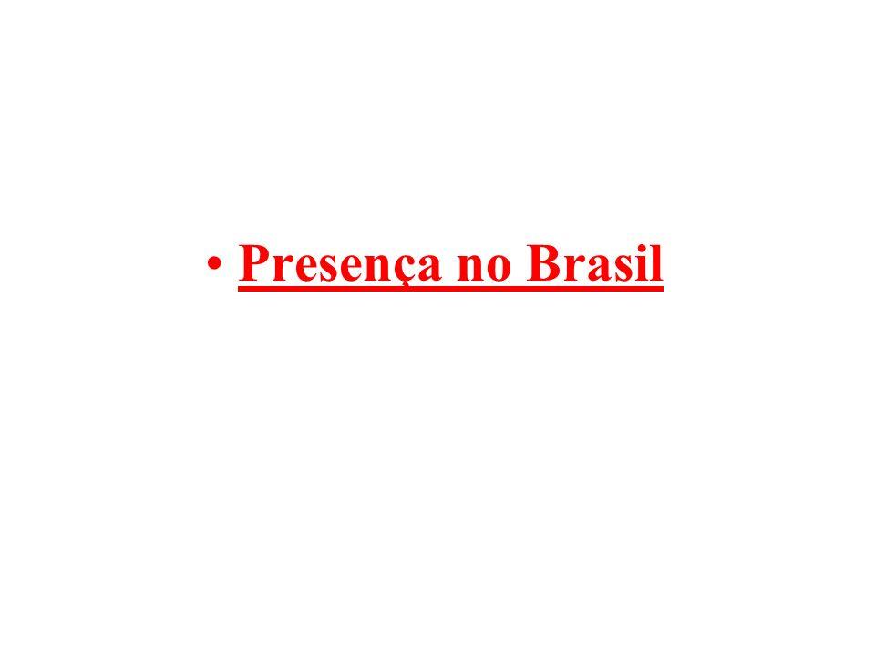 Presença no Brasil