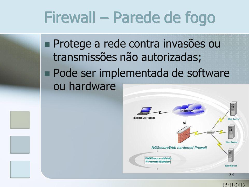Firewall – Parede de fogo