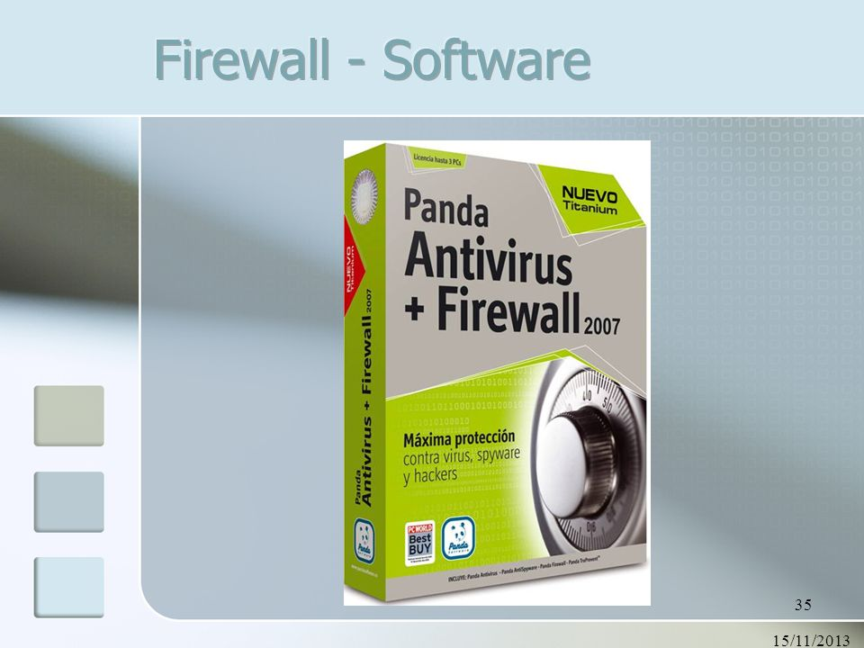 Firewall - Software 23/03/2017