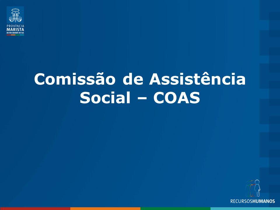 Comissão de Assistência Social – COAS