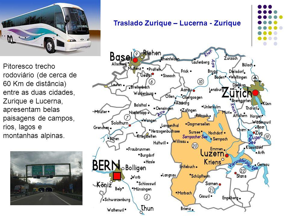 Traslado Zurique – Lucerna - Zurique