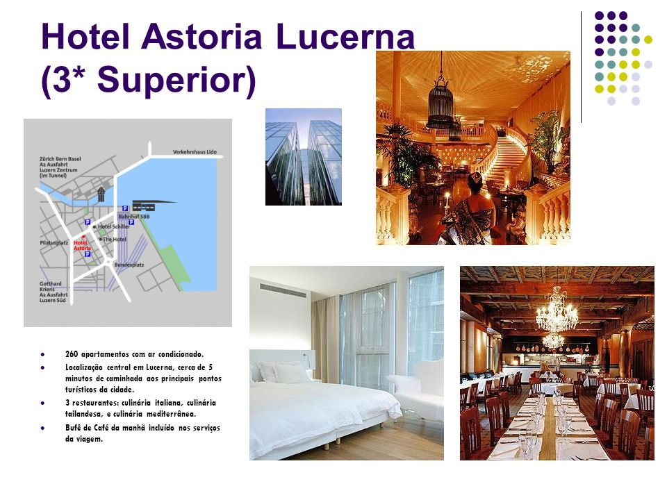 Hotel Astoria Lucerna (3* Superior)