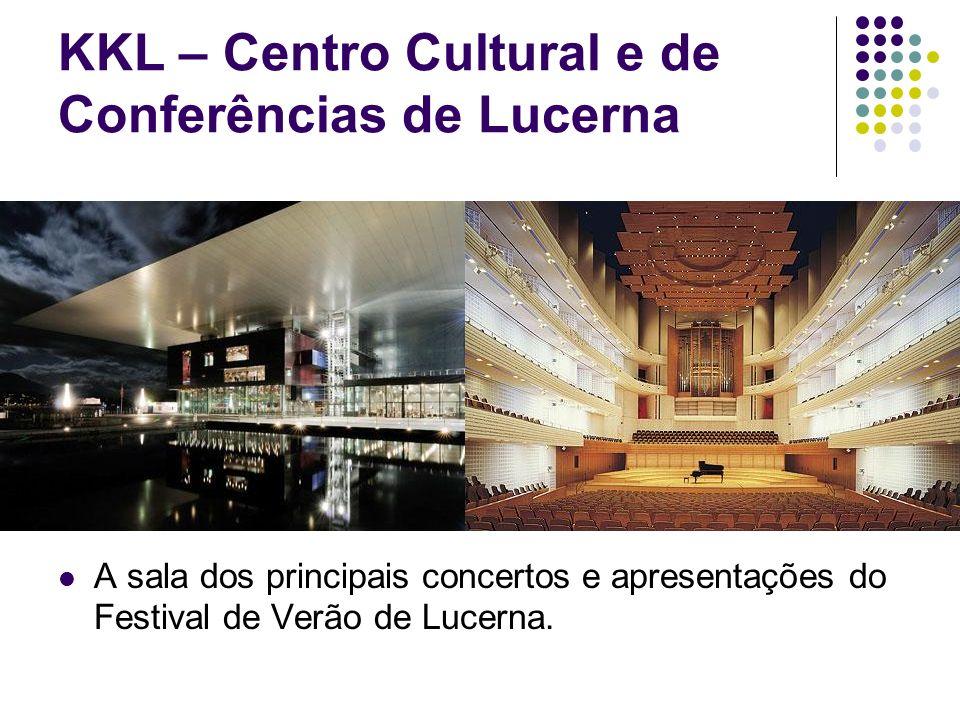 KKL – Centro Cultural e de Conferências de Lucerna