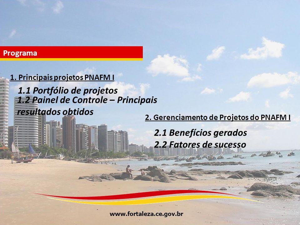 2. Gerenciamento de Projetos do PNAFM I