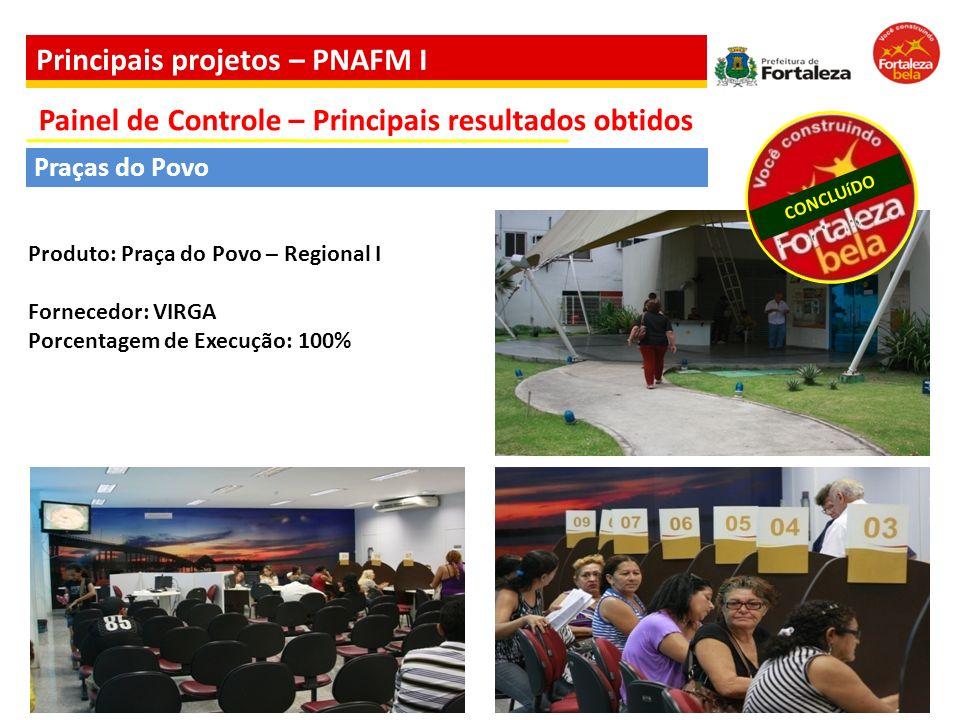 Principais projetos – PNAFM I