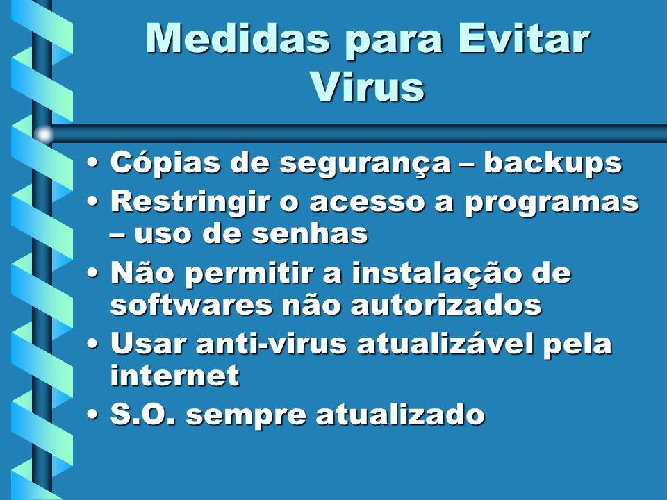 Medidas para Evitar Virus