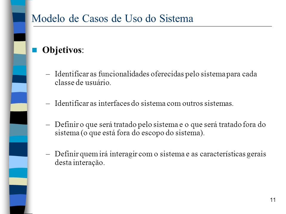 Modelo de Casos de Uso do Sistema