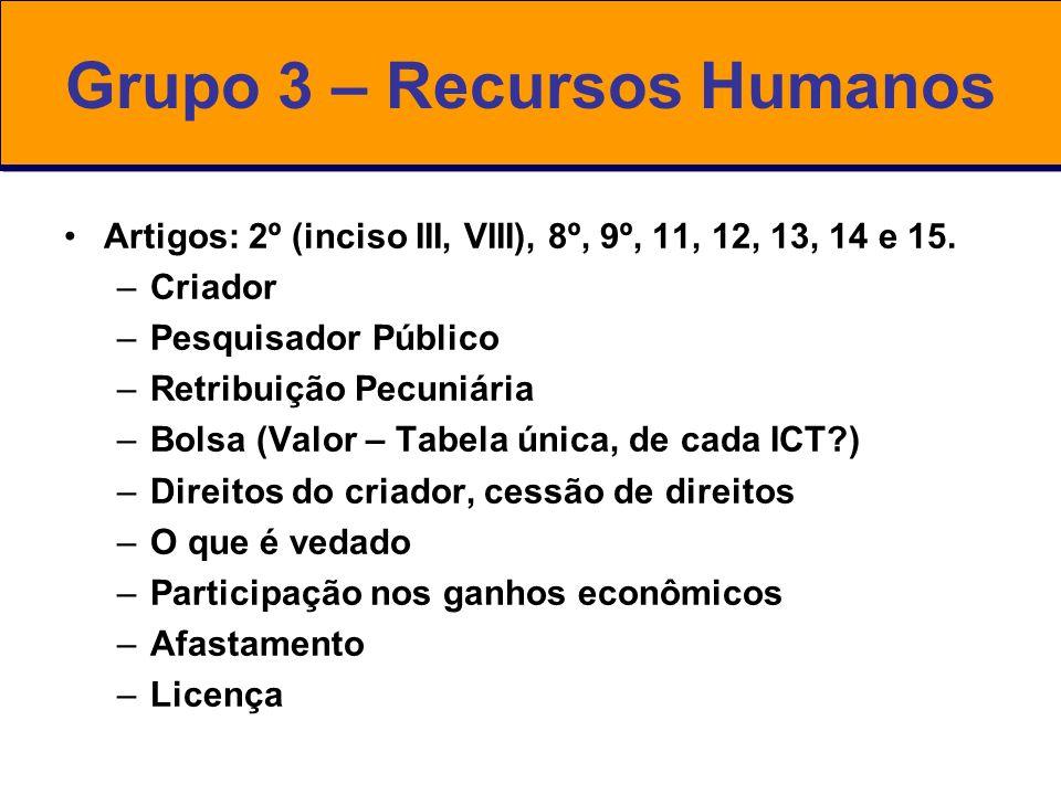 Grupo 3 – Recursos Humanos