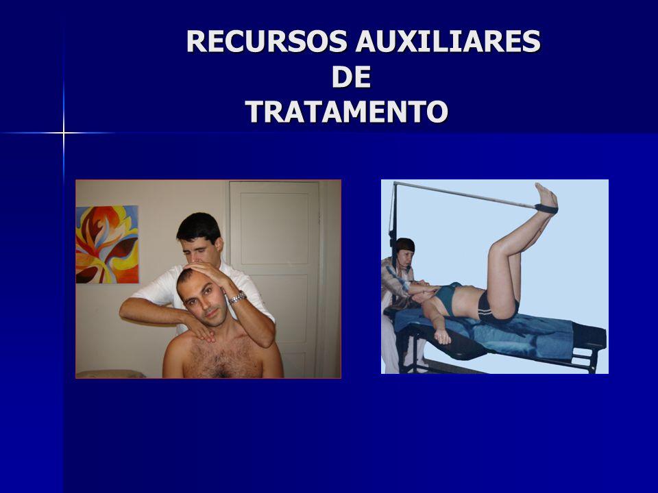 RECURSOS AUXILIARES DE TRATAMENTO