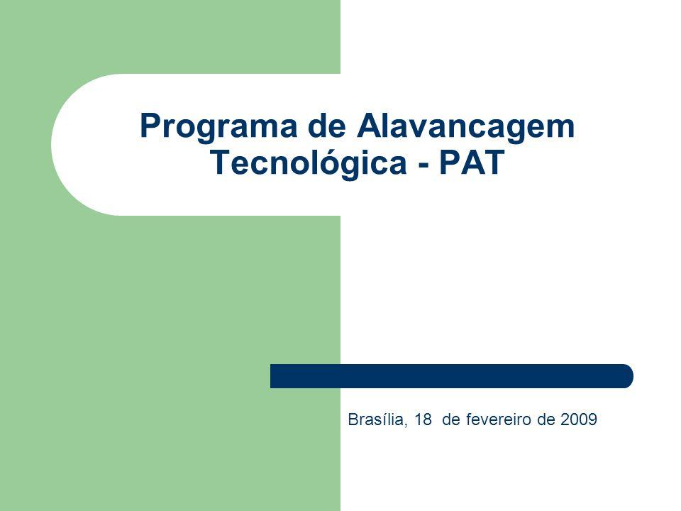 Programa de Alavancagem Tecnológica - PAT