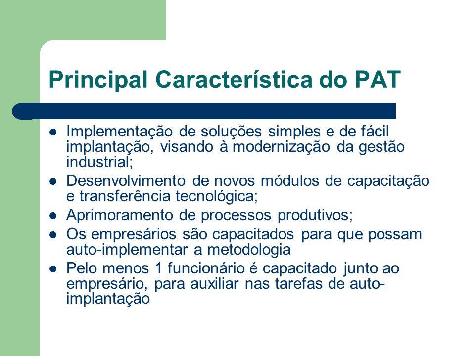 Principal Característica do PAT