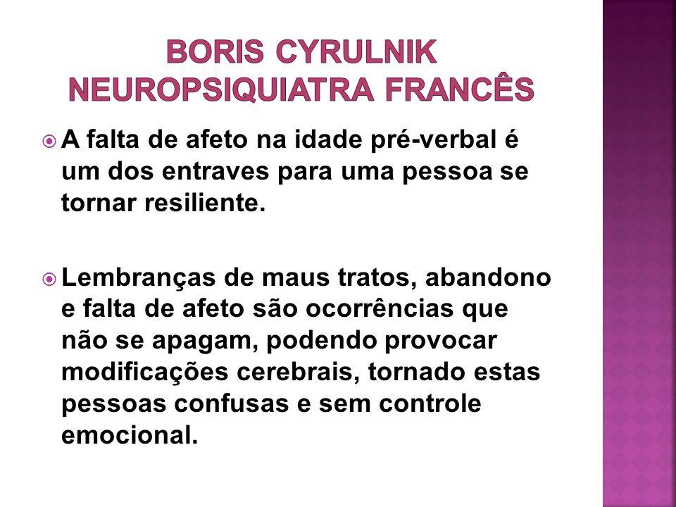 BORIS CYRULNIK NEUROPSIQUIATRA FRANCÊS