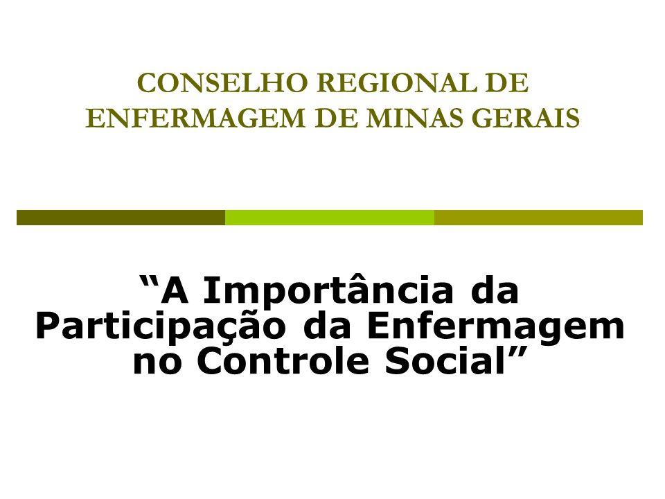 CONSELHO REGIONAL DE ENFERMAGEM DE MINAS GERAIS