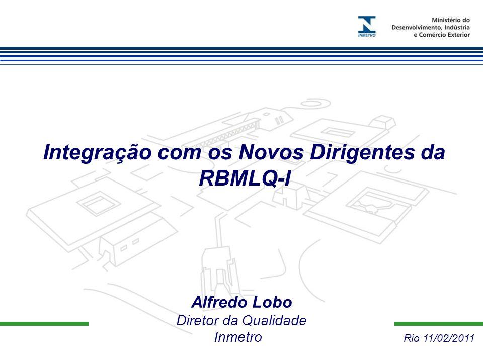 Integração com os Novos Dirigentes da RBMLQ-I