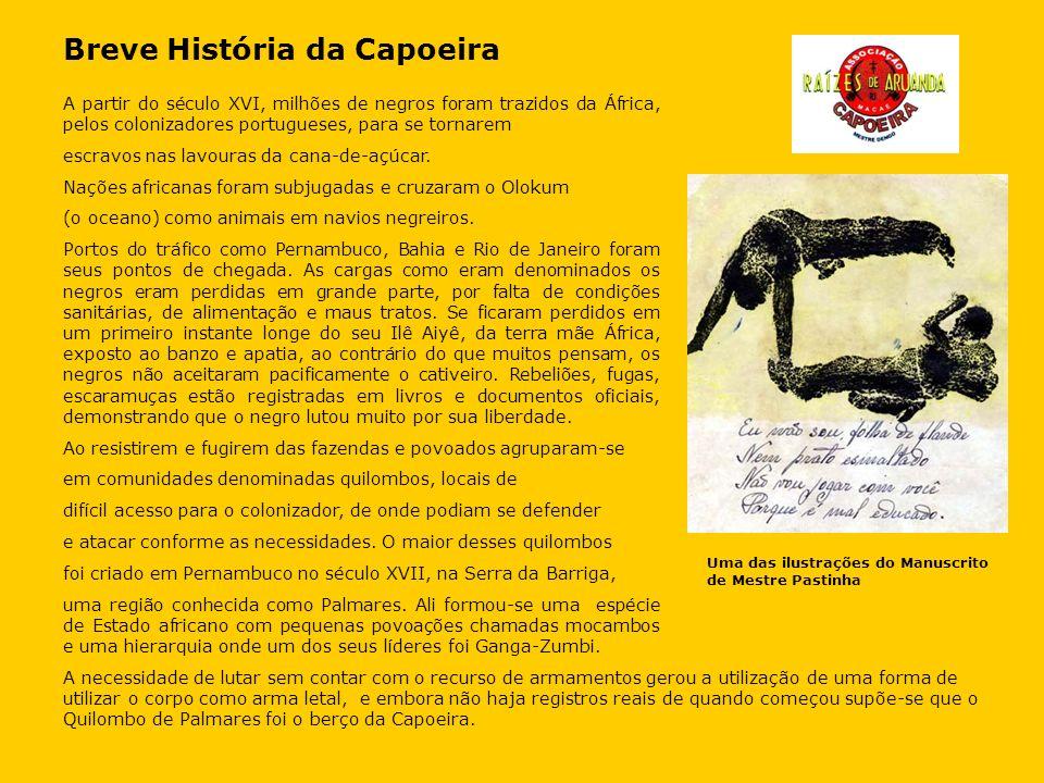 Breve História da Capoeira