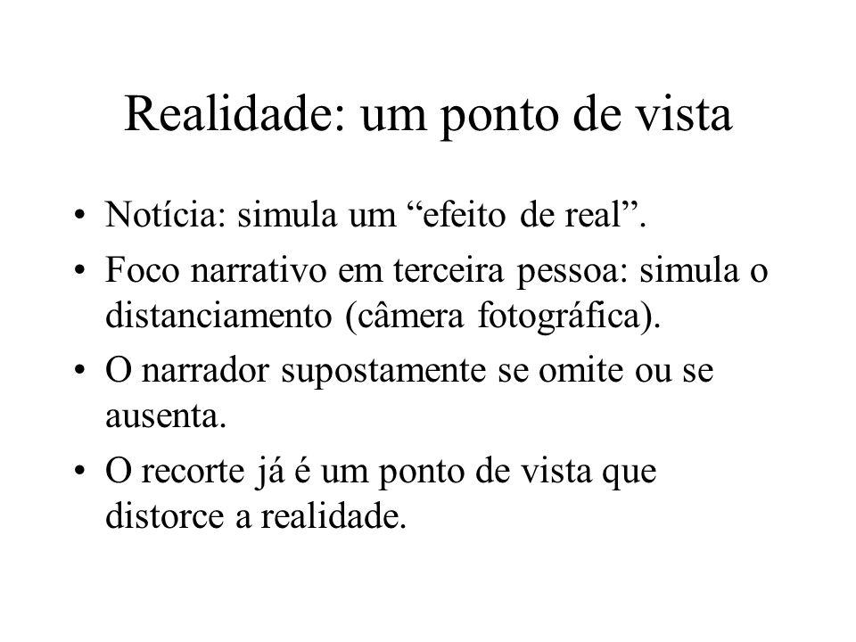 Realidade: um ponto de vista