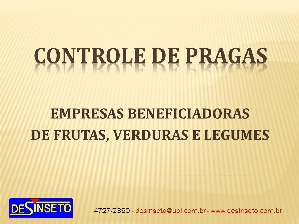 EMPRESAS BENEFICIADORAS DE FRUTAS, VERDURAS E LEGUMES
