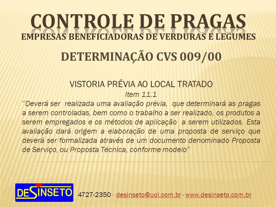 EMPRESAS BENEFICIADORAS DE VERDURAS E LEGUMES