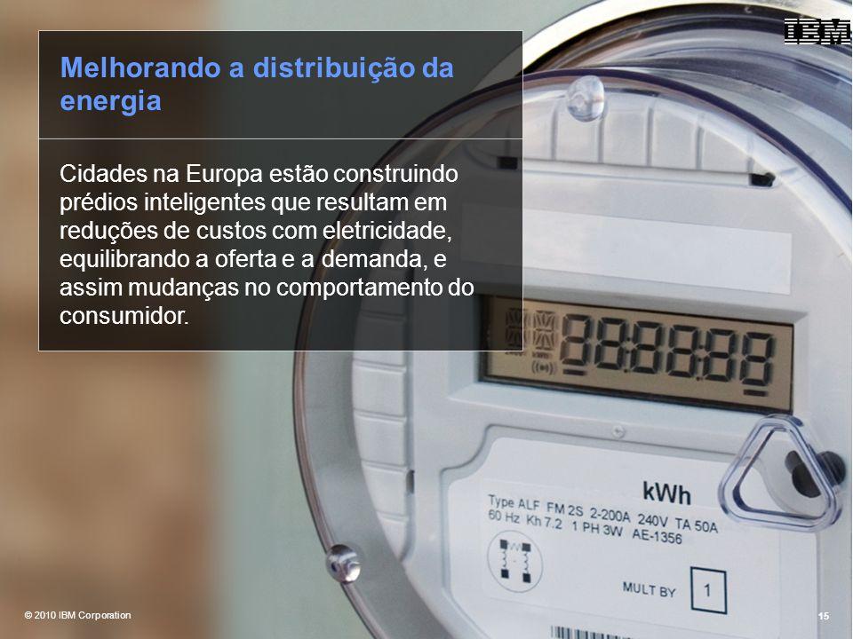 Melhorando a distribuição da energia
