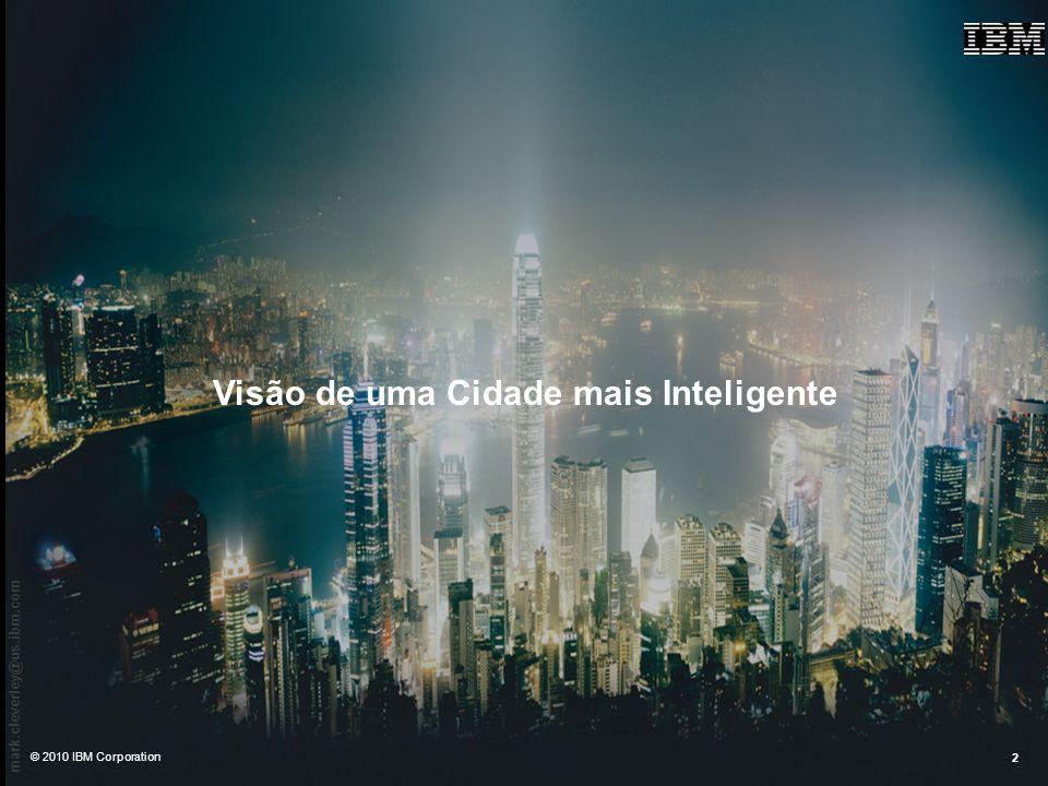 Visão de uma Cidade mais Inteligente