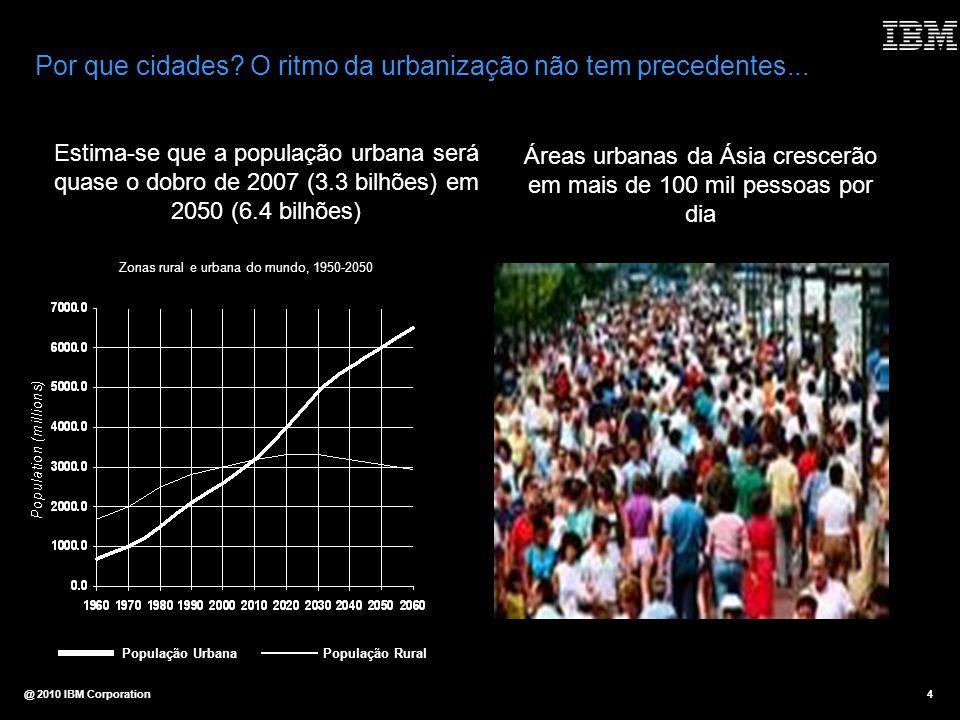 Por que cidades O ritmo da urbanização não tem precedentes...
