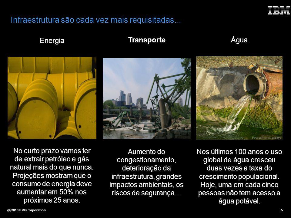 Infraestrutura são cada vez mais requisitadas...