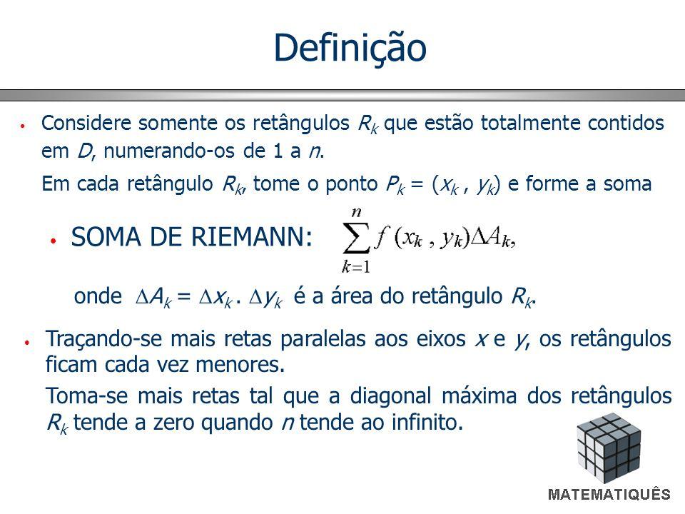 Definição SOMA DE RIEMANN: