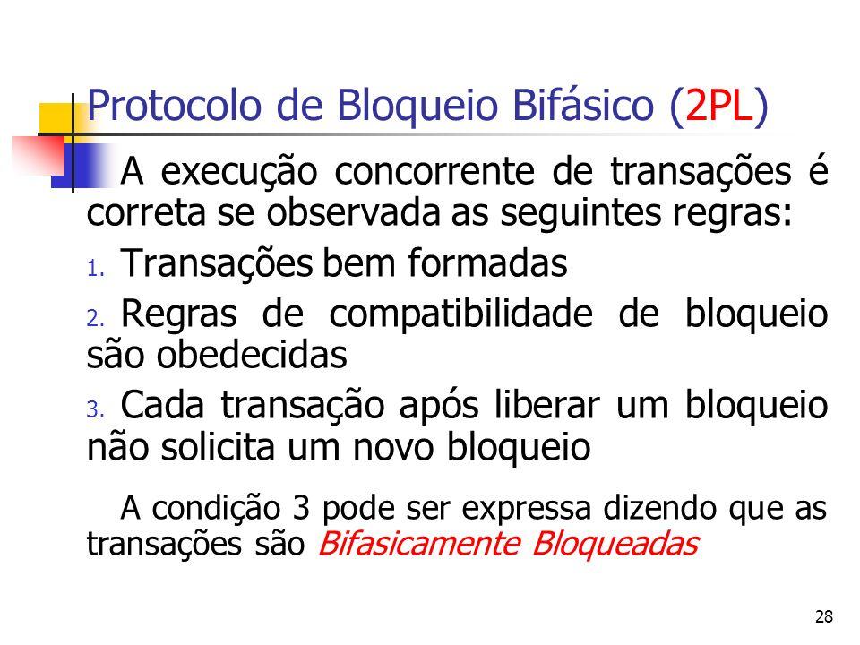 Protocolo de Bloqueio Bifásico (2PL)