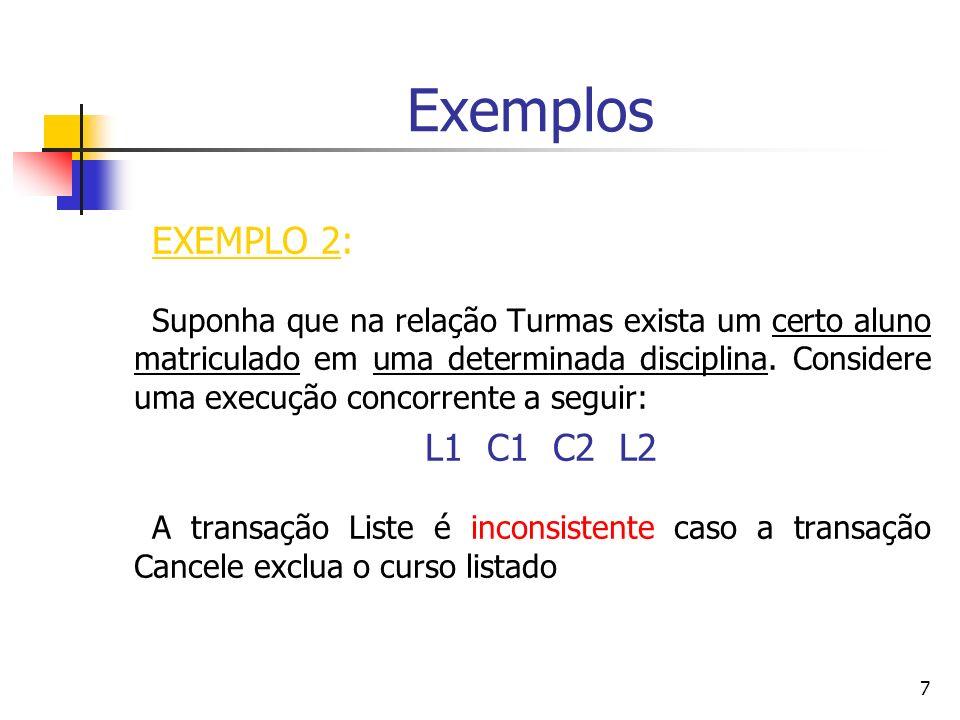 Exemplos EXEMPLO 2: L1 C1 C2 L2