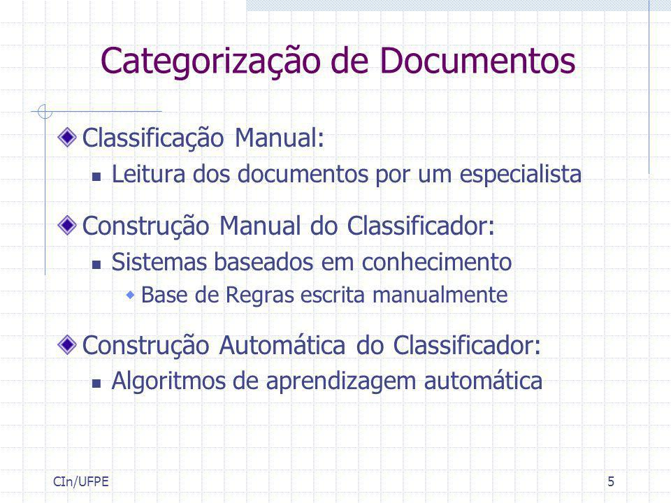 Categorização de Documentos