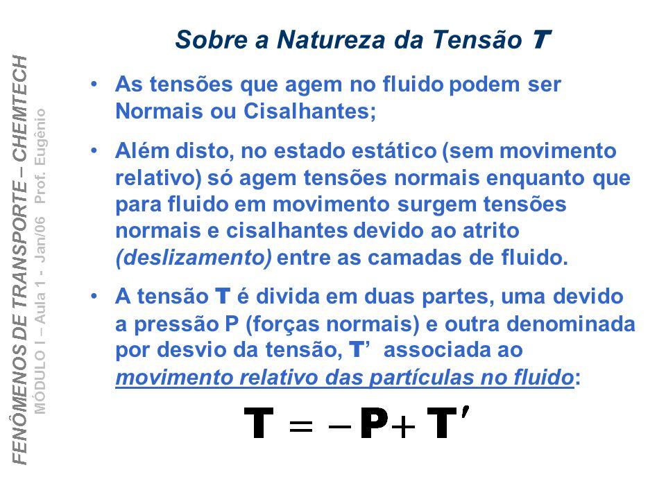 Sobre a Natureza da Tensão T