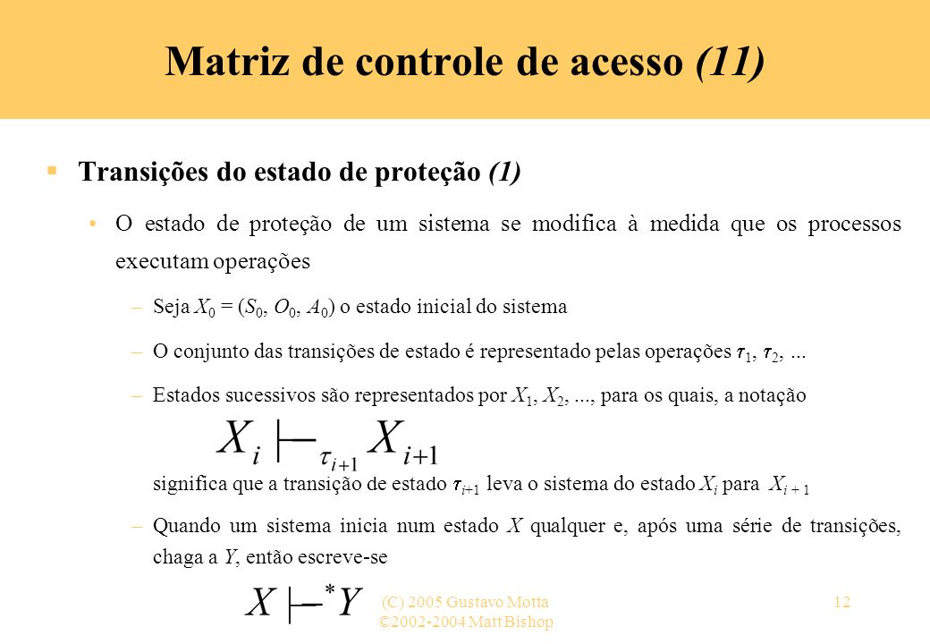 Matriz de controle de acesso (11)