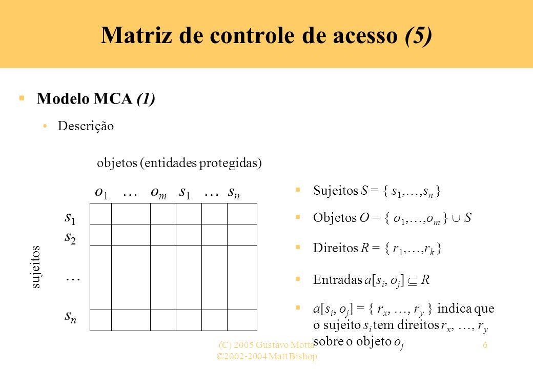 Matriz de controle de acesso (5)