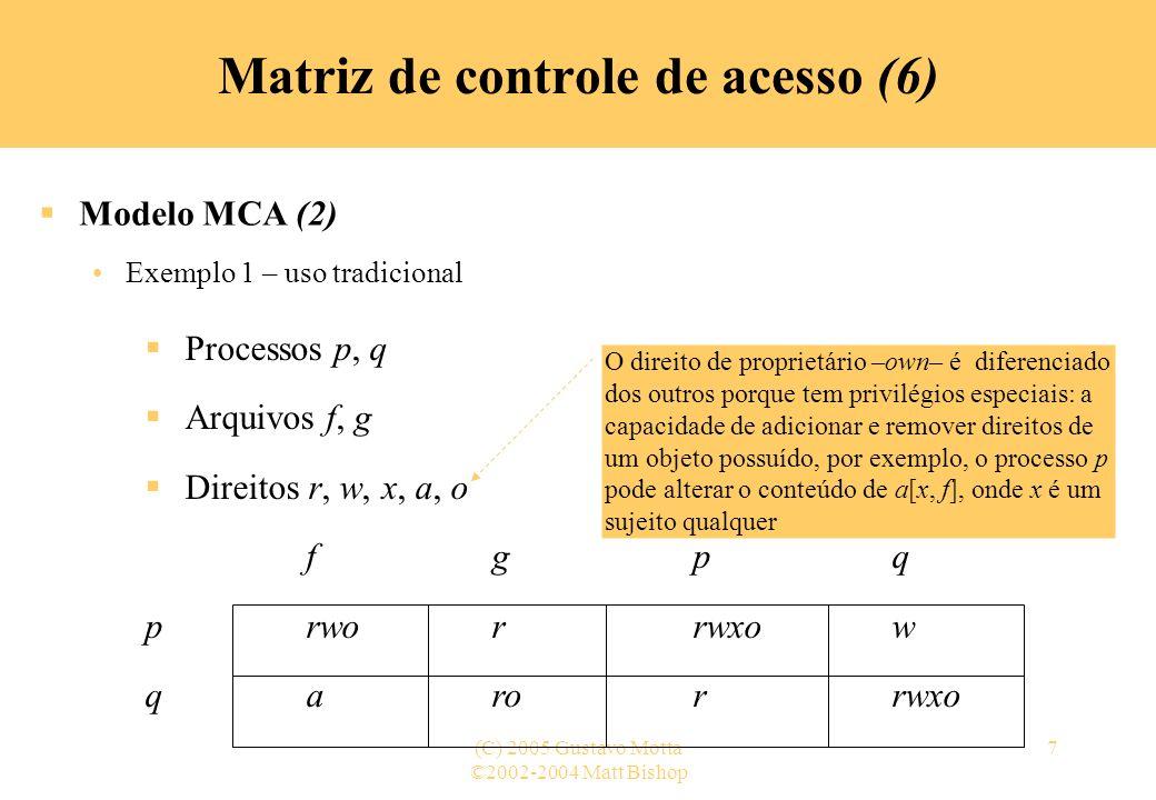 Matriz de controle de acesso (6)