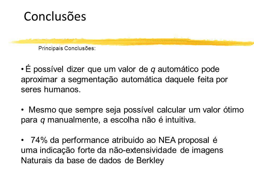 Conclusões Principais Conclusões: