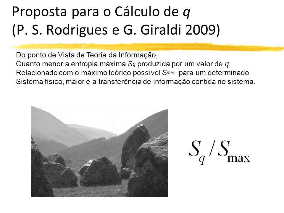 Proposta para o Cálculo de q (P. S. Rodrigues e G. Giraldi 2009)