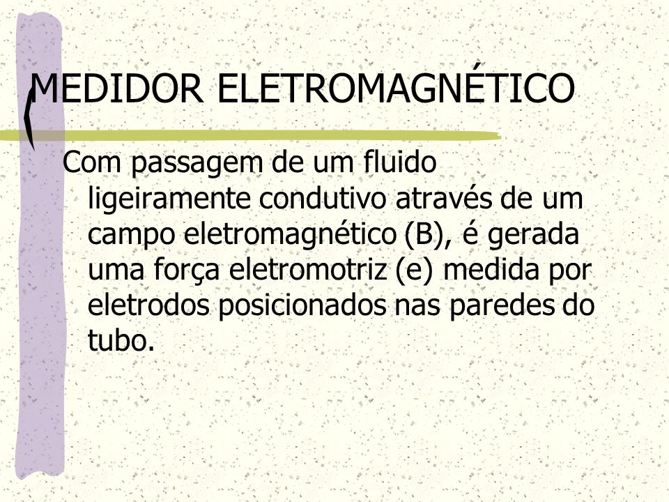 MEDIDOR ELETROMAGNÉTICO
