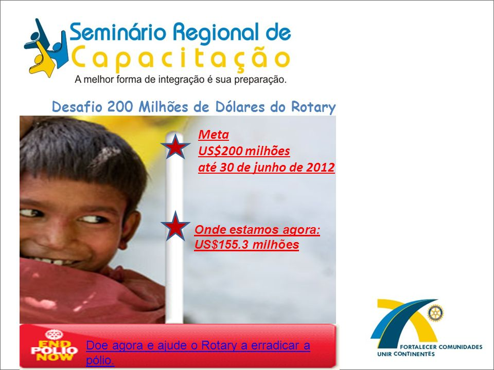 Desafio 200 Milhões de Dólares do Rotary