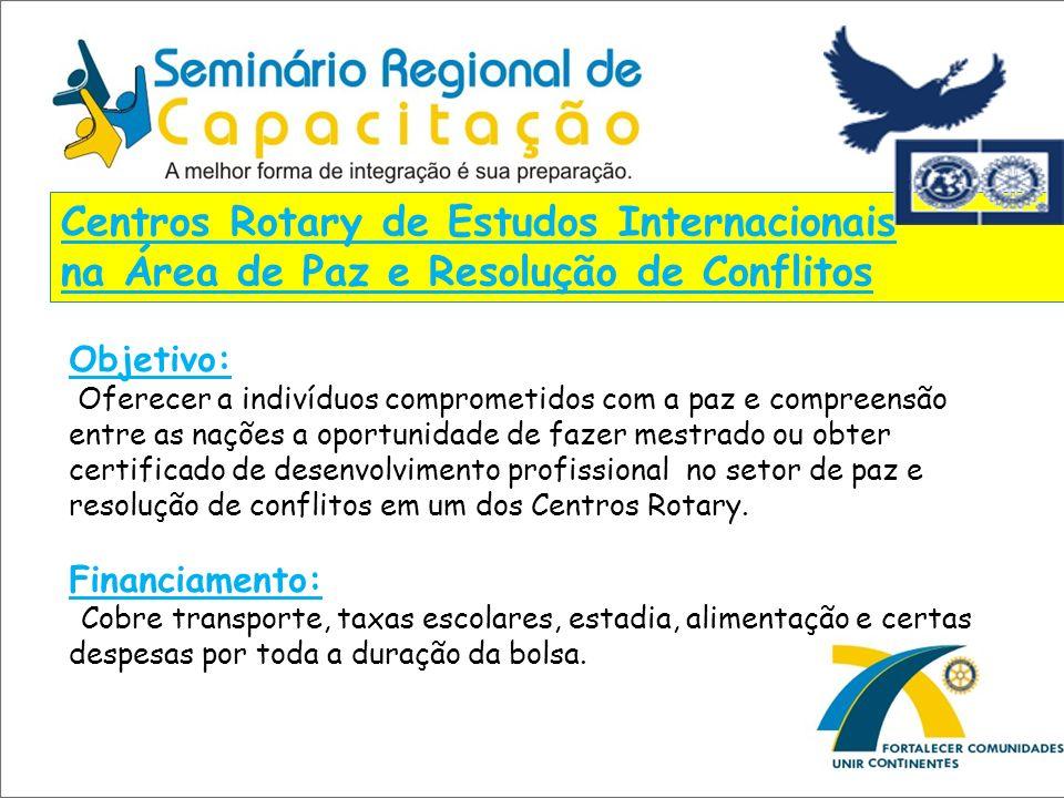 Centros Rotary de Estudos Internacionais