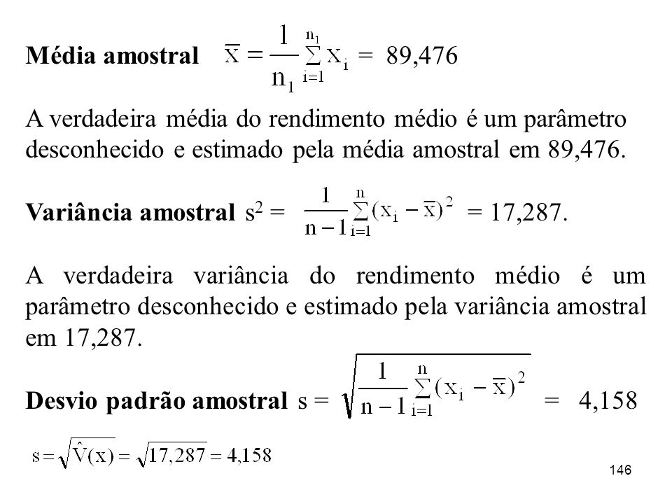 Média amostral = 89,476