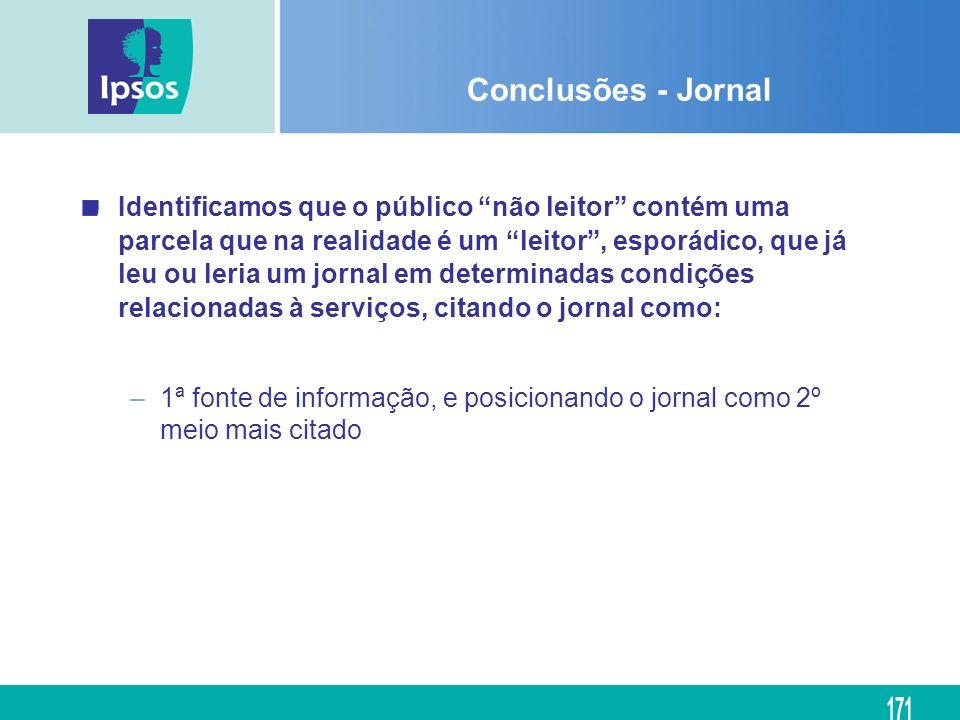 Conclusões - Jornal
