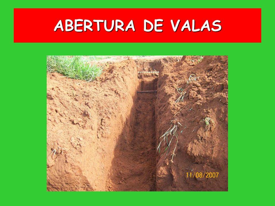 ABERTURA DE VALAS