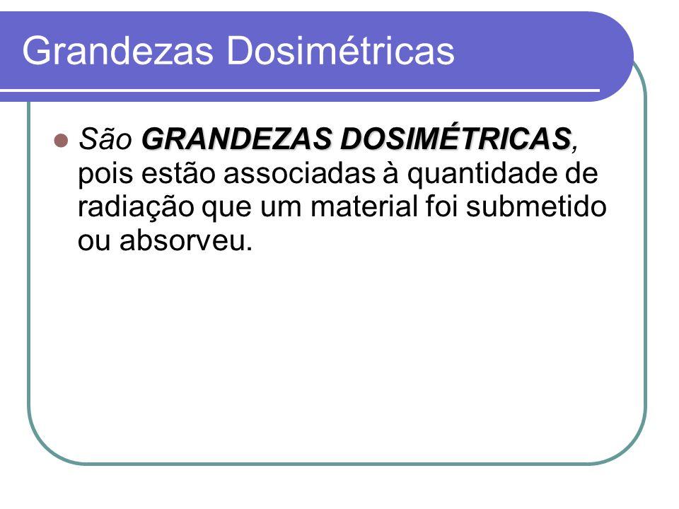 Grandezas Dosimétricas