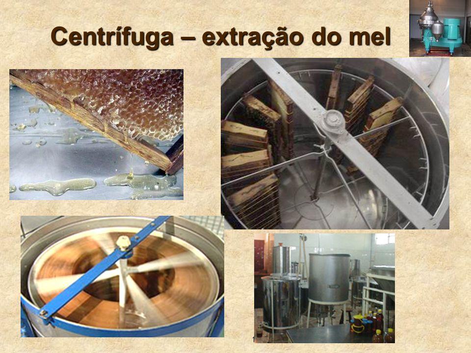 Centrífuga – extração do mel