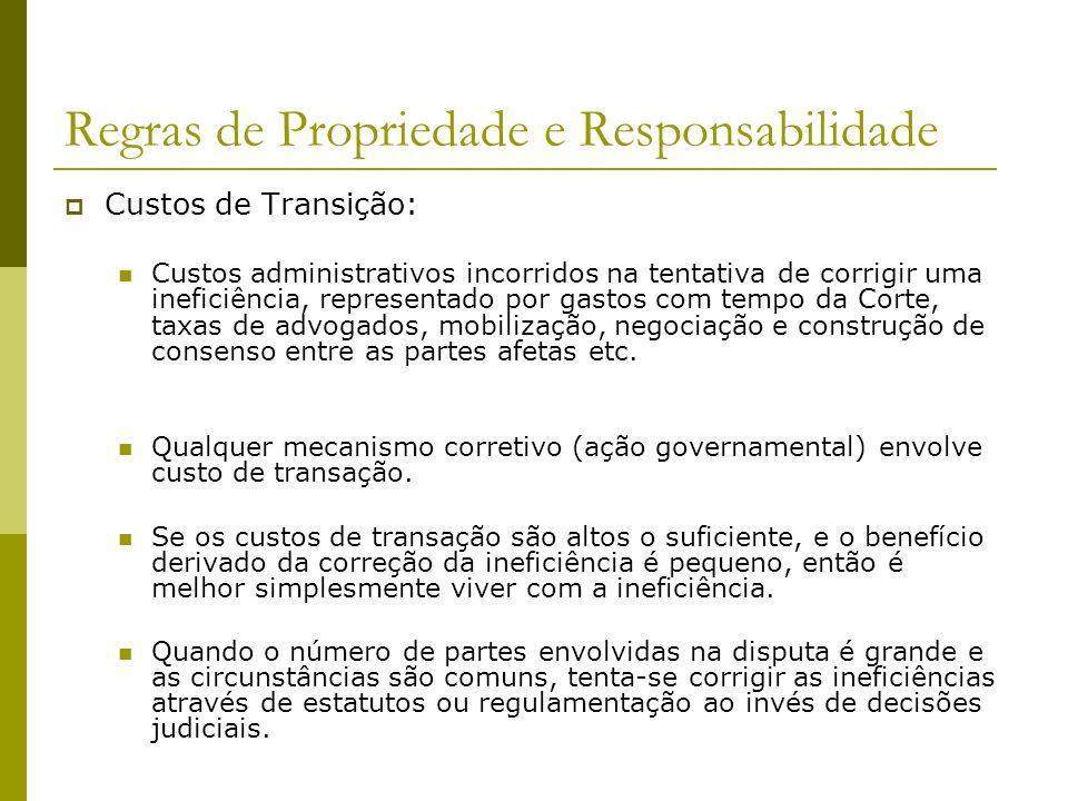 Regras de Propriedade e Responsabilidade