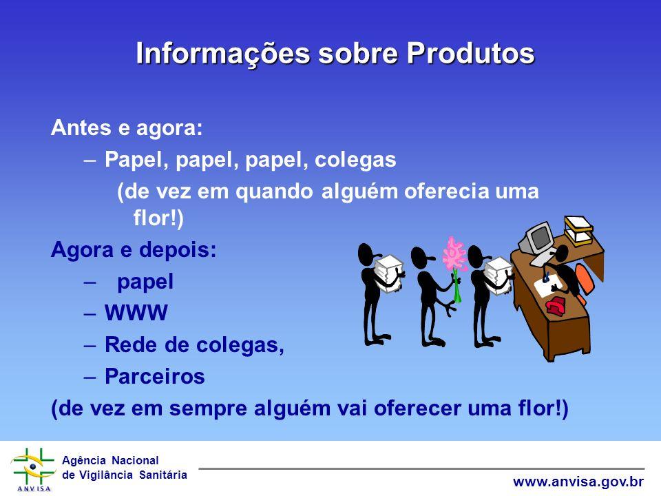 Informações sobre Produtos