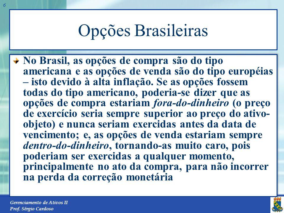 Opções Brasileiras